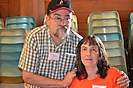 Russ Dean, Web Master,  & Angela Dean, WVBA Treasurer--Photo by Aretha Kees